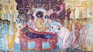 Uspenje-Presvete-Bogorodice-freska-na-zapadnom-zidu-naosa-crkve-Svete-Trojice-u-Sopocanima-iz-1271-1274.-godine-620x350