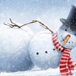snowman-winter-snow-snowflake
