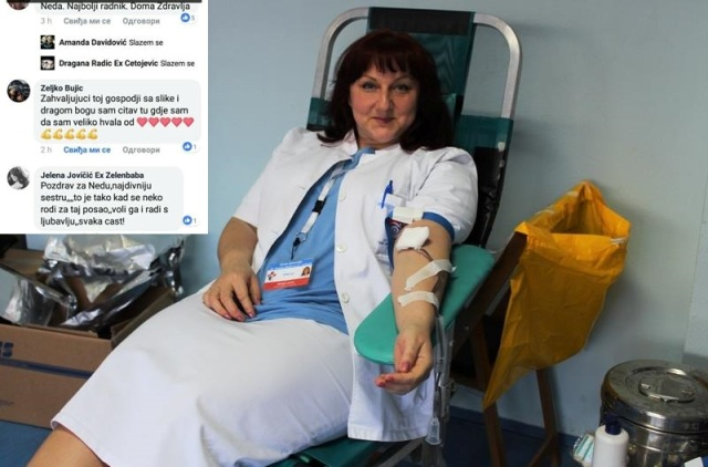 """""""Čovjek je velik koliko pomaže i daje drugima"""" – Akcija dobrovoljnog darivanja krvi"""
