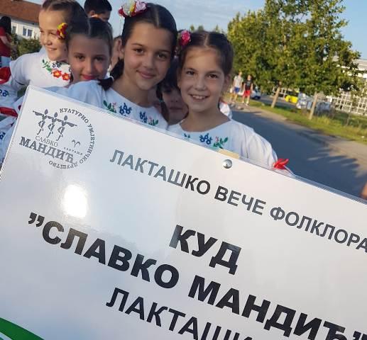 """Održano """"Laktaško veče folklora 2018"""""""