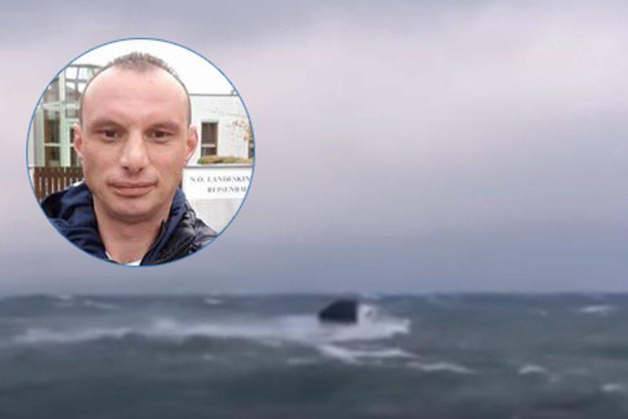 """""""ONO JE NAŠ TATA, HEROJ!""""  – Inspektor iz Gradiške spasio dvoje djece u čamcu na pučini po snažnom nevremenu"""