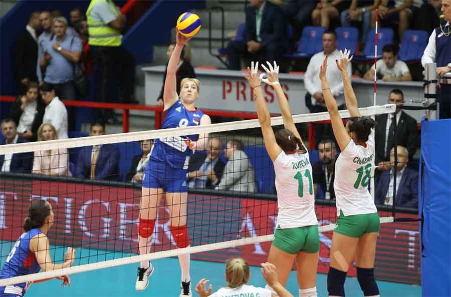 Odbojkaška reprezentacija Srbije pobijedila Bugarsku