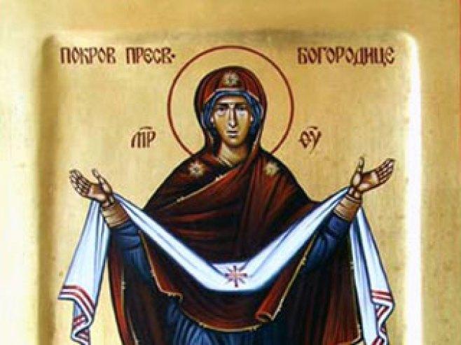 Laktaši: Danas praznik Pokrova Presvete Bogorodice