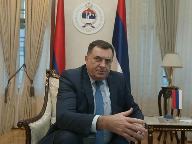 Milorad Dodik (foto: Siniša Pašalić / RAS Srbija)
