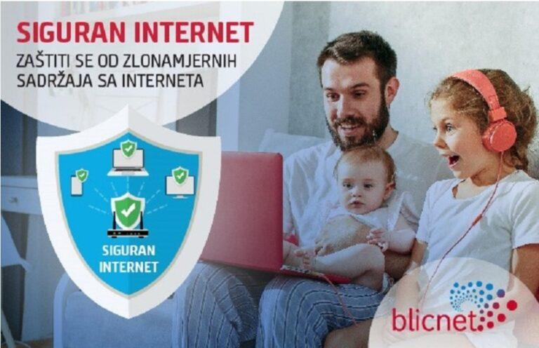 BLICNET: ZAŠTITITE SE OD PRISTUPA ZLONAMJERNIM SADRŽAJIMA NA INTERNETU, AKTIVIRAJTE USLUGU SIGURAN INTERNET