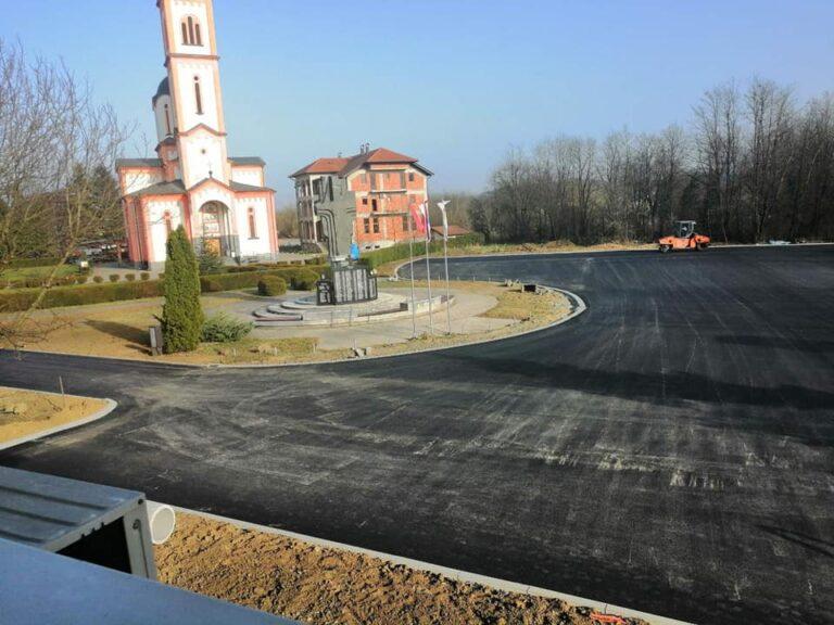 Laktaši: U funkciji nova saobraćajnica i parking
